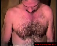 Southern Redneck Jerking His Cock - scene 1
