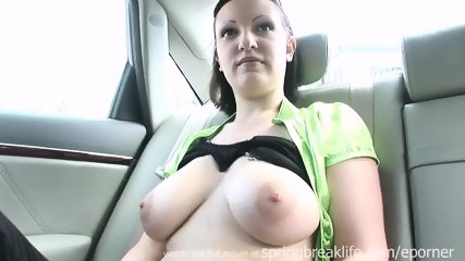 Big Tit Emo Masturbates In Car - scene 2