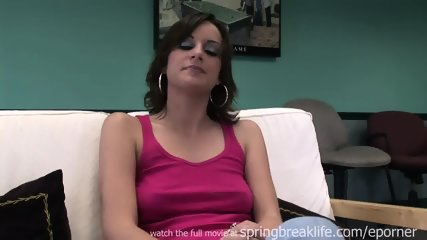 Tall Chick Gets Naked - scene 1