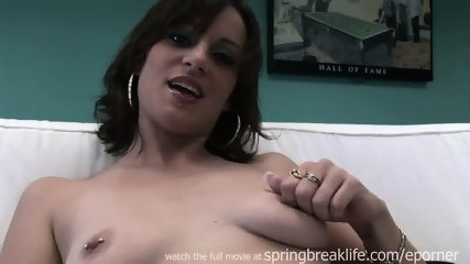 Tall Chick Gets Naked - scene 4
