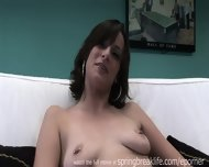 Tall Chick Gets Naked - scene 5