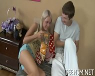 Skinny Teen Trains Her Snatch - scene 2