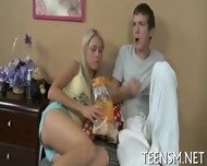 Skinny Teen Trains Her Snatch - scene 3