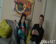 Hot Fingering With Plowing - scene 1