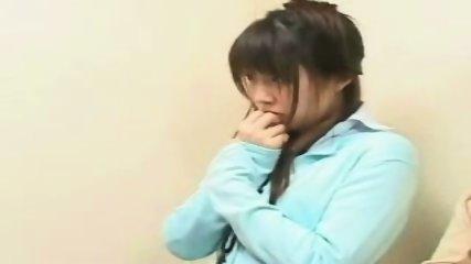 Japanese Girls doing Gangbang in Elevator - scene 4
