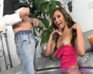 Young Perky Latina Beauty Needs Her Tight Ass Fucked - scene 11
