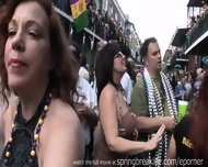 Mardi Gras Street Action - scene 7