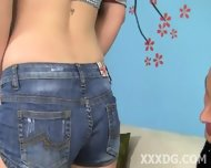 Super Cute Young Blonde With Pigtails - scene 1
