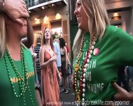 Flashing At Mardi Gras - scene 4