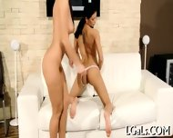 Stare At Two Lesbo Gals - scene 9