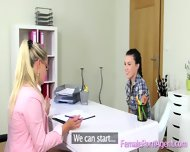 Teenage Girl Does First Casting - scene 9