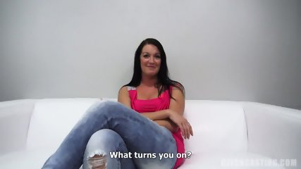 Dick For Amateur Brunette Jana - scene 3