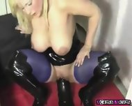 Destroying My Holes With A Big Black Dildo - scene 10