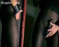 Mysterious Babe Masturbates With Vibrator - scene 6