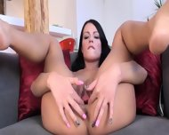 Gaping And Gyno Vibrating Her Sweet Hole - scene 3