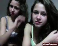 Lesbians Not Sisters On Webcam - scene 11
