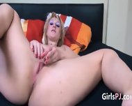 Sexy Blonde Fisting Her Vagina - scene 12