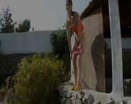 Peeing Of Amazing Russian Teenager - scene 1