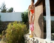 Peeing Of Amazing Russian Teenager - scene 2