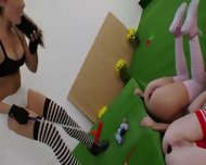 Three Anal Queens And Brutal Toys - scene 3