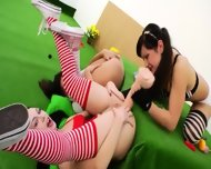 Three Anal Queens And Brutal Toys - scene 5