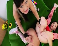 Three Anal Queens And Brutal Toys - scene 6