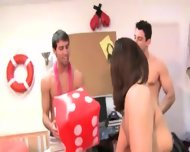 Young Students Bang On College Party - scene 3