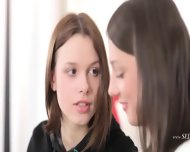 Two Incredible Lesbians With Dildo - scene 2