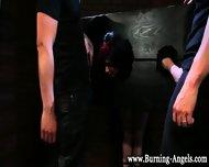 Bondage Goth Spitroasted - scene 1