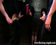 Bondage Goth Spitroasted - scene 2
