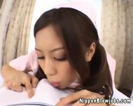 Nippon Jizz Lover Sucking On A Fat Cock - scene 1