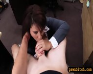 Milf Pawns Twat To Raised Money For Her Husbands Bail - scene 10