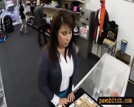 Milf Pawns Twat To Raised Money For Her Husbands Bail - scene 4
