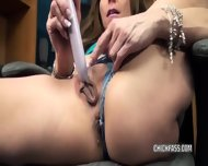 Brandi Minx Is Playing With Her Dildo - scene 2