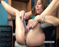 Brandi Minx Is Playing With Her Dildo - scene 5