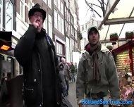 Amateur Dutch Blonde Blow - scene 3