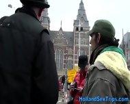Amateur Dutch Blonde Blow - scene 5