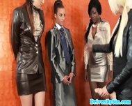 Lezdom Covers Glam Euro Babes In Jizz - scene 5