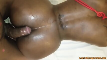 He Gave Me a Quick Throbbing Cumshot in my Ass - MrandMrsBond