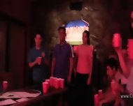 College Groupsex Deepfucking At The Party - scene 2
