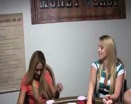 Young Princesses Fucking On Poker Night - scene 3