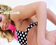 Deep Lesbian Butthole Licking And Toying - scene 1