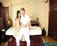 Babe Blows During Massage - scene 8