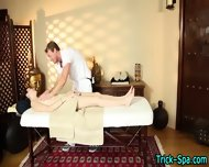 Babe Blows During Massage - scene 2