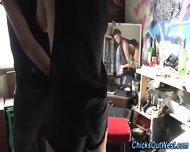 Real Amateur Pees Outside - scene 4