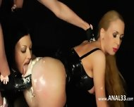 Delightfully Brutal Anal Games With Cream - scene 9