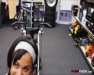 Muscular Chick Was Convinced To Get Fucked In The Pawnshop - scene 11