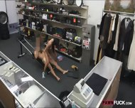 Muscular Chick Was Convinced To Get Fucked In The Pawnshop - scene 12