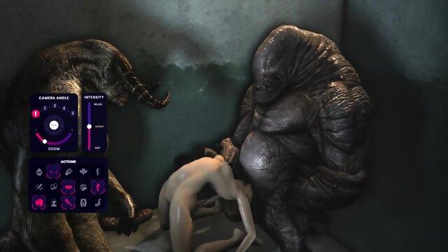 Sex Horror Parody – D Va sucks and fucks