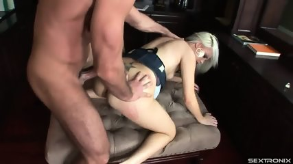 Story About Horny Blonde With Cum On Face - scene 8